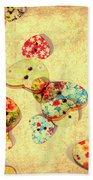 A Weathered Tailors Abstract Beach Towel