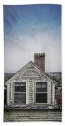 Abandoned House Beach Sheet