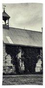 Abandoned Schoolhouse Beach Towel by Garvin Hunter
