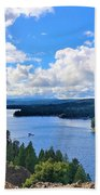 Above The Waters Beach Towel