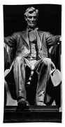 Abraham Lincoln Beach Towel by Chris Lord