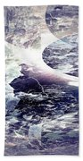 Abstract Ocean Enigma Beach Towel by Robert G Kernodle