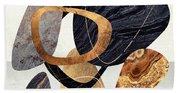 Abstract Pebbles IIi Beach Towel