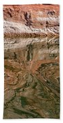 Abstract Reflections On Lake Powell Beach Towel