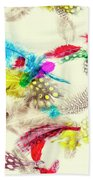 Abstract Softness Beach Towel