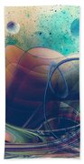 Turbulence Beach Towel by Robert G Kernodle
