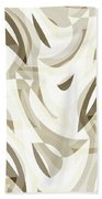 Abstract Waves Painting 007212 Beach Towel