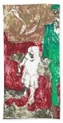 After Billy Childish Painting Otd 43 Beach Towel