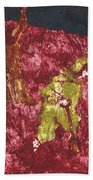 After Billy Childish Painting Otd 7 Beach Towel