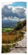 After The Rain On The Trail Beach Towel