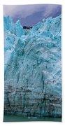 Alaskan Blue Glacier Ice Beach Towel