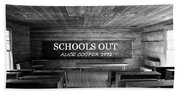 Alice Cooper Schools Out Beach Towel