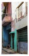 Alley In Cuba Beach Towel