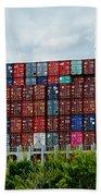 American Georgia Shipping Trade Beach Towel