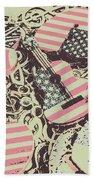 Americana Audio Beach Towel