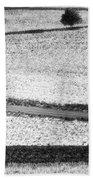 Amish Country Lancaster Pennsylvania Bw Beach Towel
