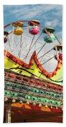 Amusement Park Fun Beach Towel