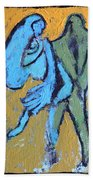 An Afternoon In The Park Beach Towel