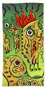 Ancient Spirit Beach Towel by Sotuland Art