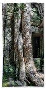 Angkor Roots Beach Towel