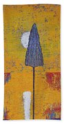 Another Day At The Office Original Painting Beach Towel