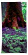 Another World - Overgrown Beach Towel by Scott Lyons
