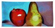 Apple And Pear Beach Towel