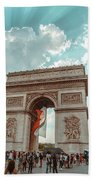 Arc De Triomphe - World Cup 2018 Beach Towel