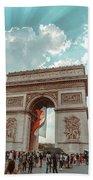 Arc De Triomphe - World Cup 2018 Beach Sheet