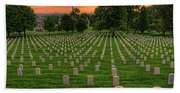 Arlington National Cemetery Sunrise Beach Towel