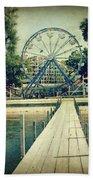 Arnolds Park Beach Towel