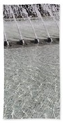 Arthur J. Will Memorial Fountain At Grand Park Beach Towel