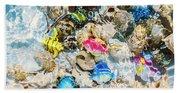 Artificial Aquarium  Beach Towel