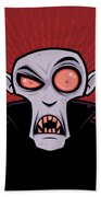 Count Dracula Beach Towel