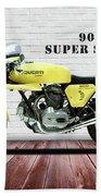 Ducati 900 Super Sport Beach Towel