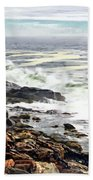 Blustry Passion Beach Towel