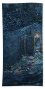 Trapp Family Lodge Cabin Sunrise Stowe Vermont Beach Towel