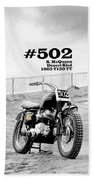 No 502 Mcqueen Desert Sled Beach Towel