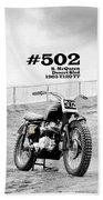 No 502 Mcqueen Desert Sled Beach Sheet