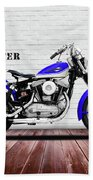 The Sportster Vintage Motorcycle Beach Sheet