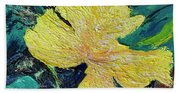 Dancing Flower Beach Towel
