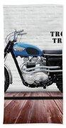 Triumph Trophy Tr6 Beach Towel