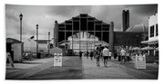 Asbury Park Boardwalk Beach Towel