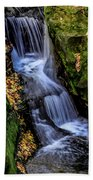 Autumn At Pewits Nest Beach Towel by Dawn Richards