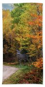 Autumn Buck  Beach Towel by Patti Deters