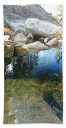 Autumn Liquid Dreamscape Beach Towel by Sean Sarsfield