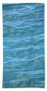 Bahamas Blue Beach Towel