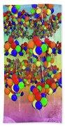 Balloons Everywhere Beach Towel