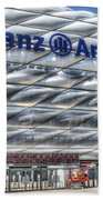 Allianz Arena Bayern Munich  Beach Towel