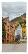 Beautiful Small Town Rico Colorado Beach Sheet